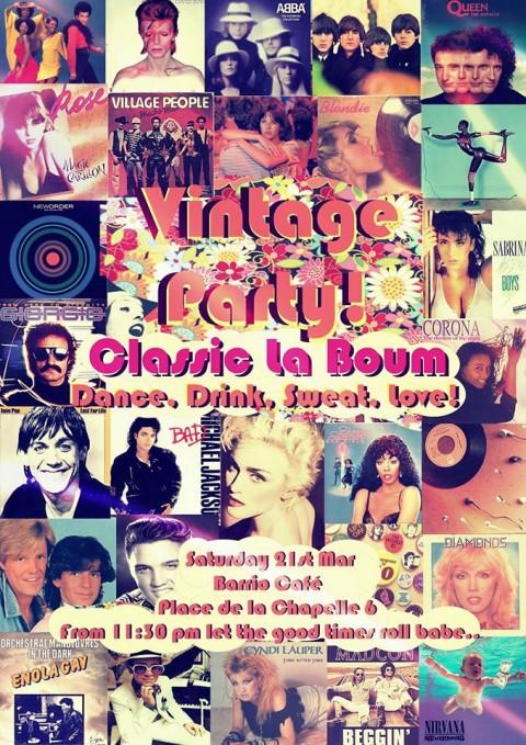 Vintage Party La Boum